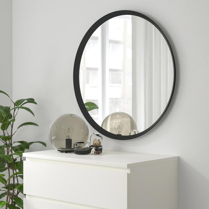 Oglindă, gri închis - 80 cm [3]