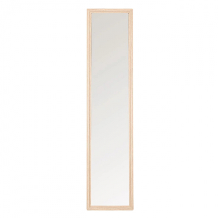 Oglindă, culoare stejar cu suport 36x156 cm 2