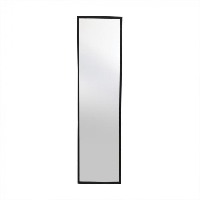 Oglindă 30 x 120 cm,ramă MDF negru Jolino 2
