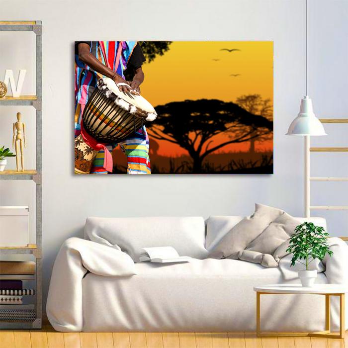 Tablou Canvas - African Sound 2