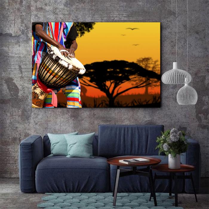 Tablou Canvas - African Sound 3
