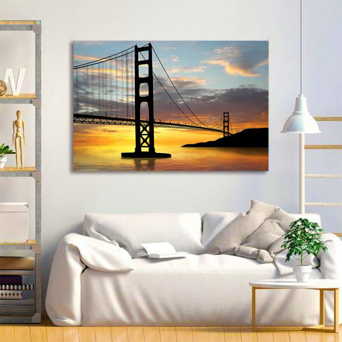 Tablou Canvas - Golden gate bridge 2