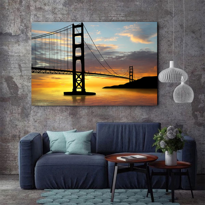 Tablou Canvas - Golden gate bridge 3