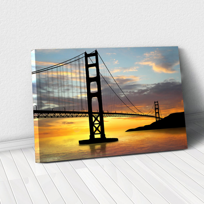 Tablou Canvas - Golden gate bridge 0