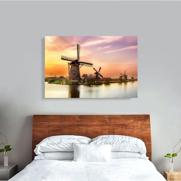 Tablou Canvas - Windmills 1