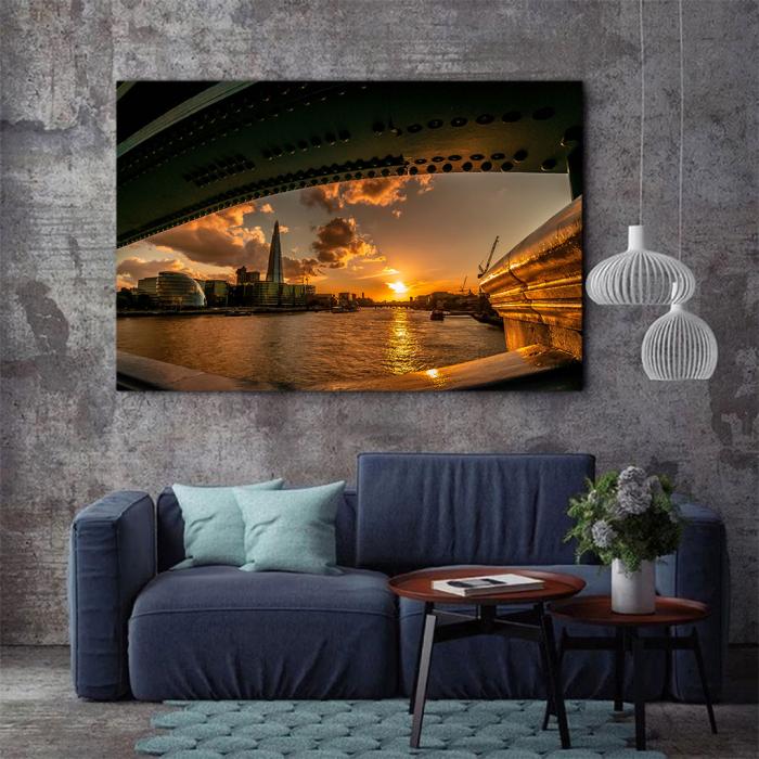 Tablou Canvas - Under the Bridge 2