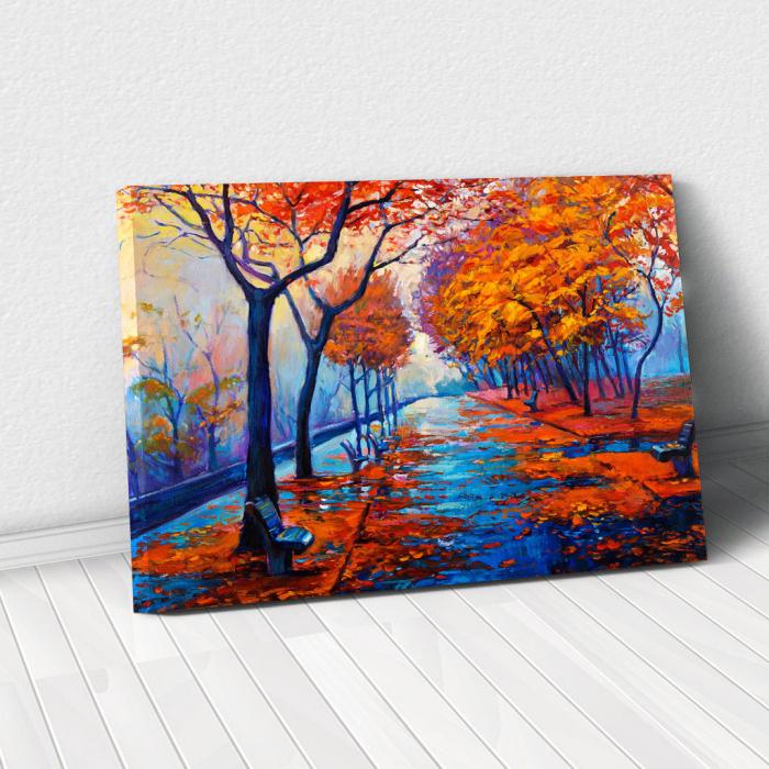Tablou Canvas - Peisaj de toamna [0]