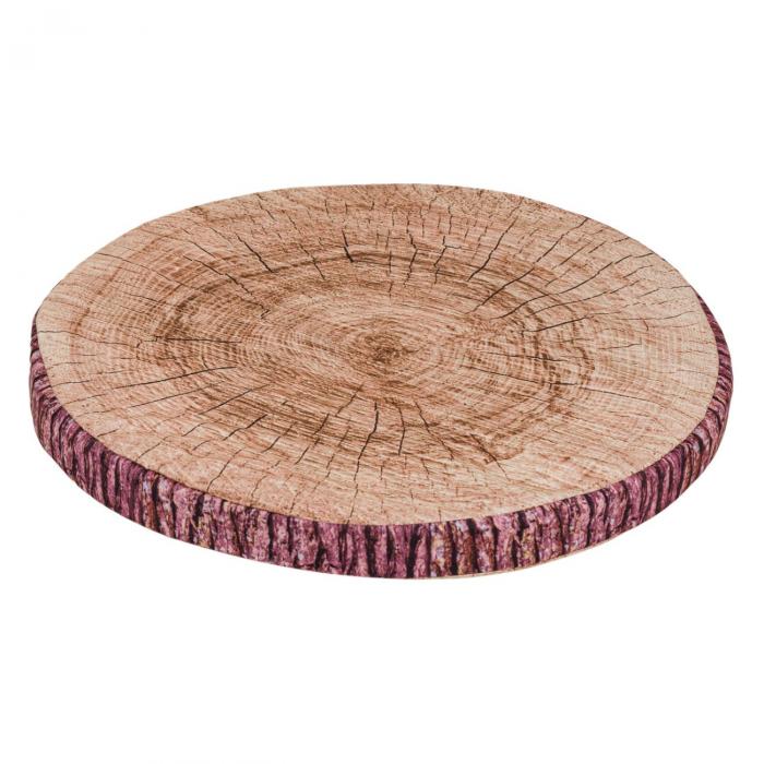 Pernă pentru șezut,design lemn,38x3 [0]