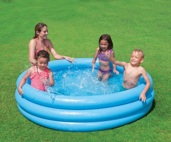 Piscină gonflabilă Blue 58446, pentru copii, 168 x 40 cm [1]