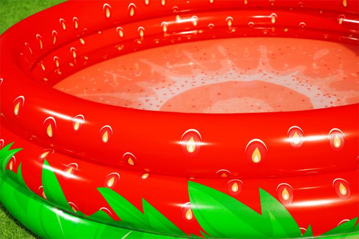 Piscină gonflabilă căpșună, 160 x 38 cm 1