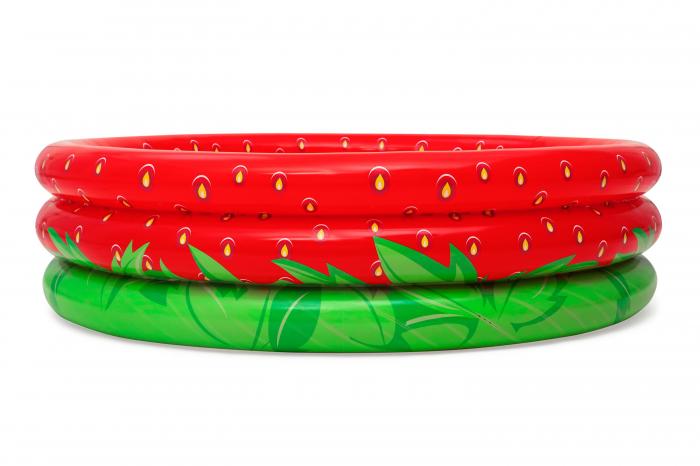 Piscină gonflabilă căpșună, 160 x 38 cm 0