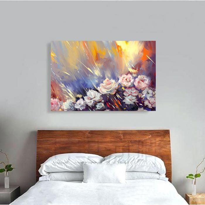 Tablou Canvas - Arta florala 1