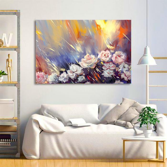 Tablou Canvas - Arta florala 2