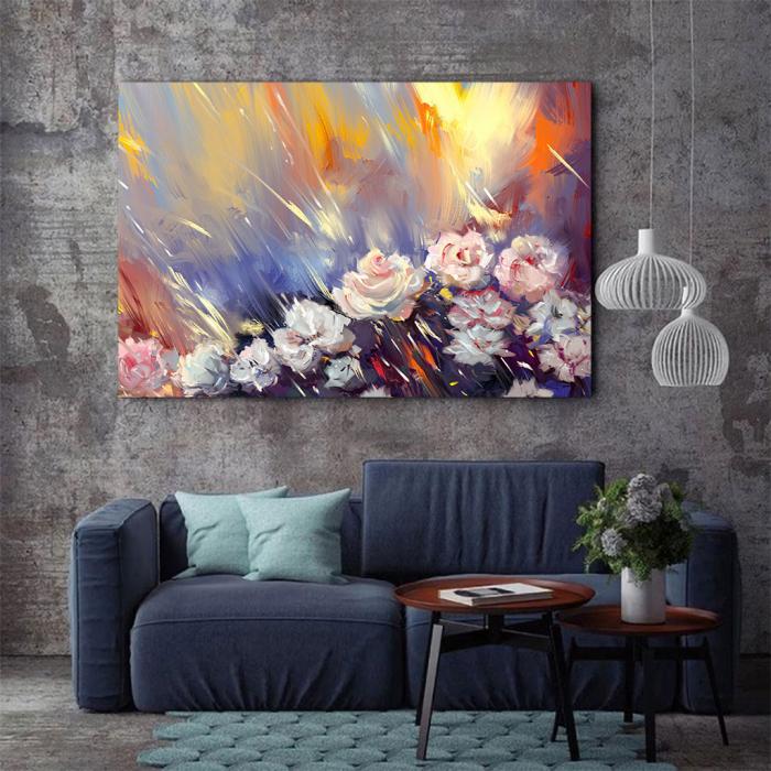 Tablou Canvas - Arta florala 3