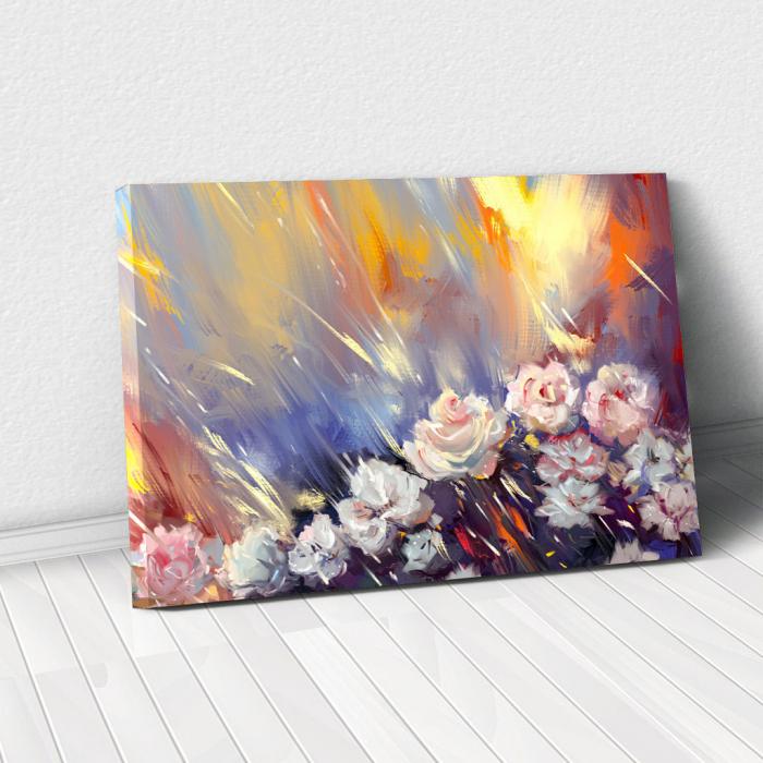 Tablou Canvas - Arta florala 0