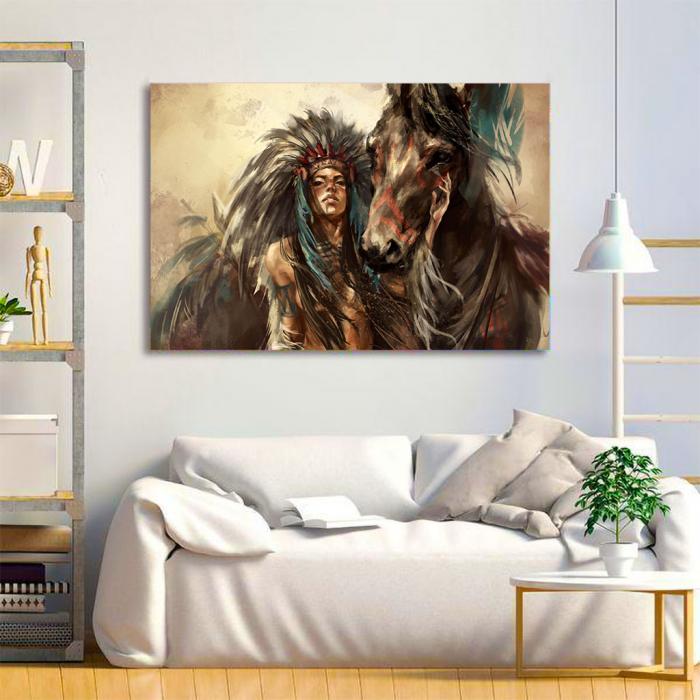 Tablou Canvas - Cherokee 2