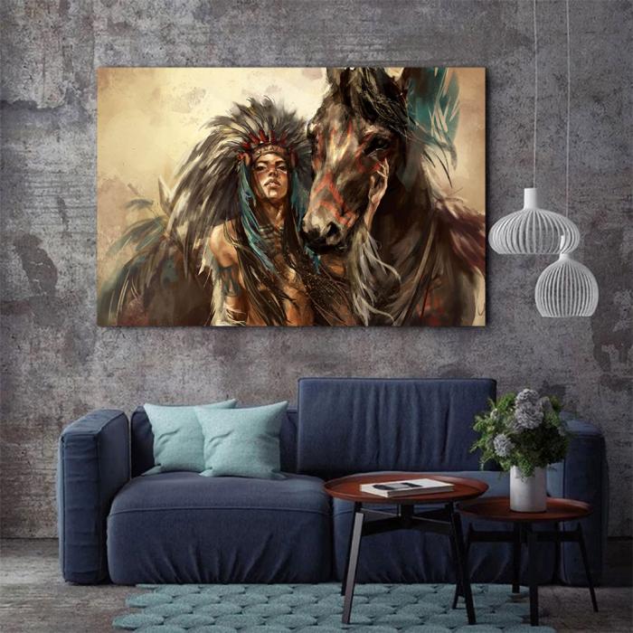 Tablou Canvas - Cherokee 3