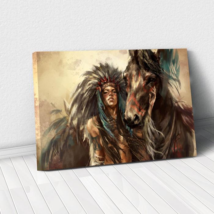 Tablou Canvas - Cherokee 0