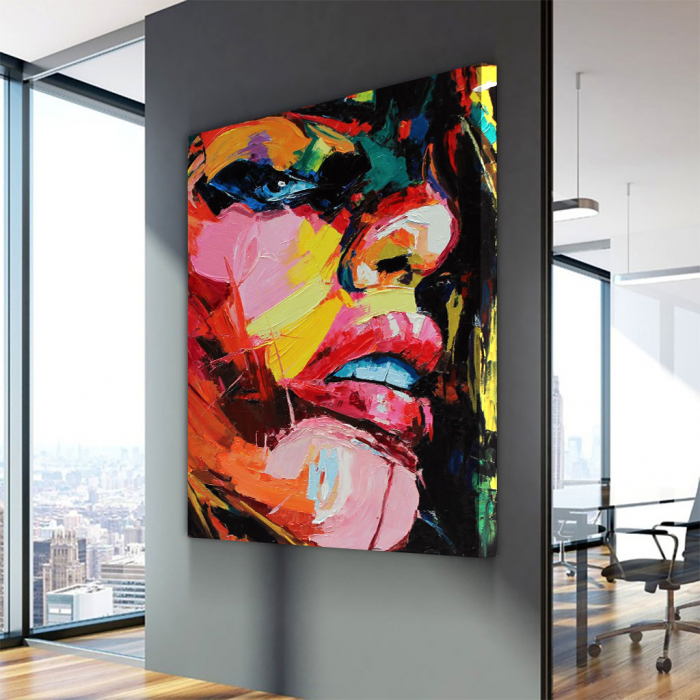 Tablou Canvas - Figura feminina 1