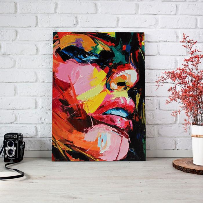 Tablou Canvas - Figura feminina 2