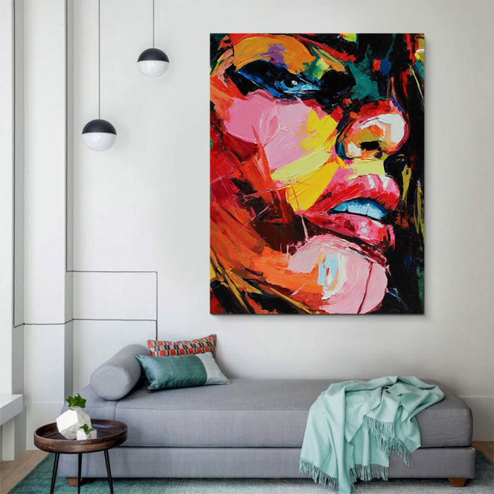 Tablou Canvas - Figura feminina 3