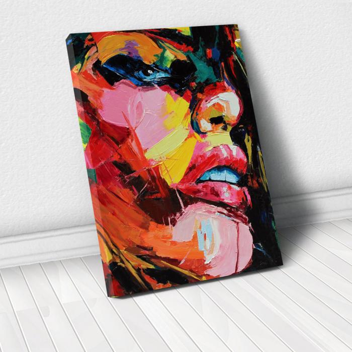 Tablou Canvas - Figura feminina 0