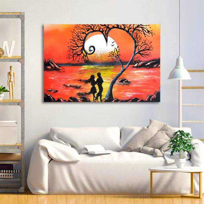 Tablou Canvas - Lovers 1