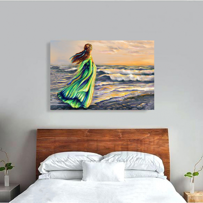 Tablou Canvas - Plimbare pe plaja 3