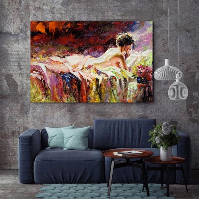 Tablou Canvas - Arta nude [2]