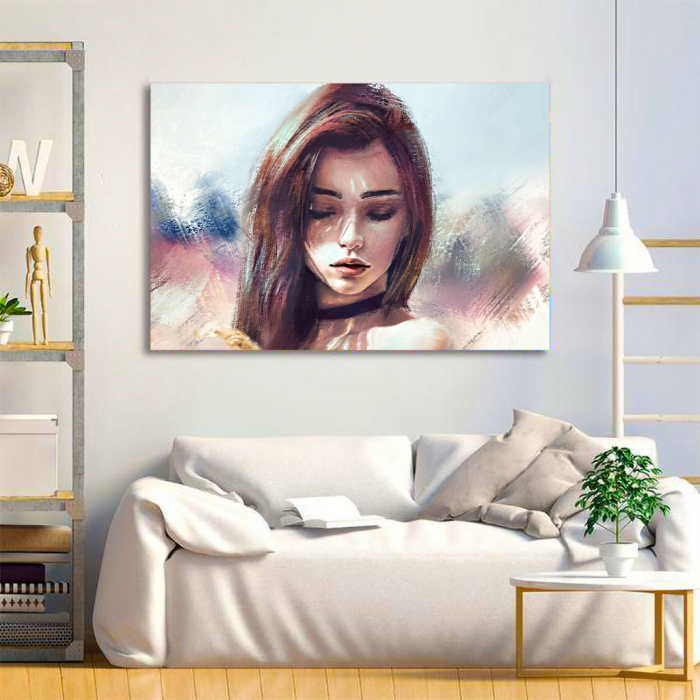 Tablou Canvas - Portret artistic 1