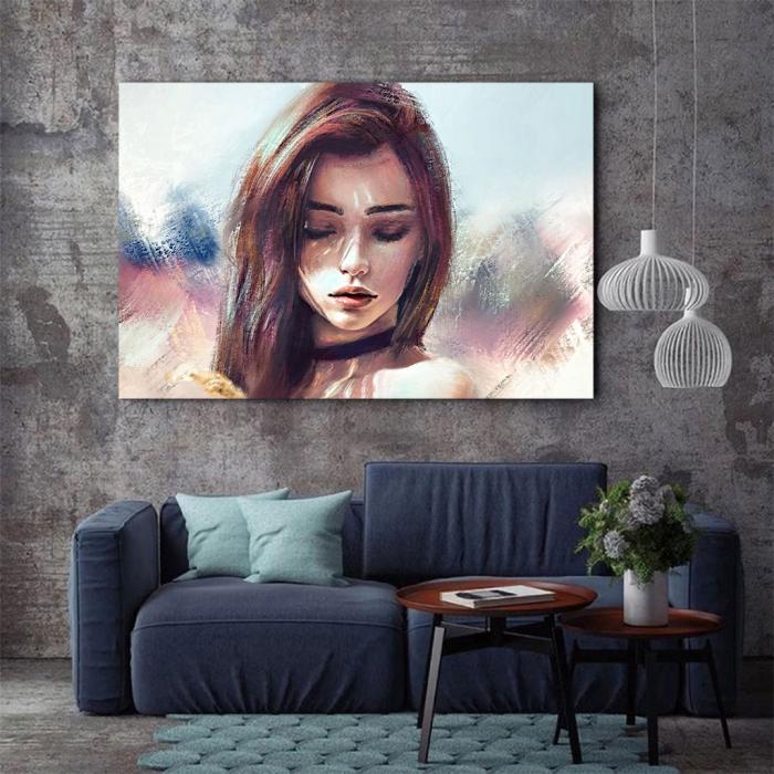 Tablou Canvas - Portret artistic 2