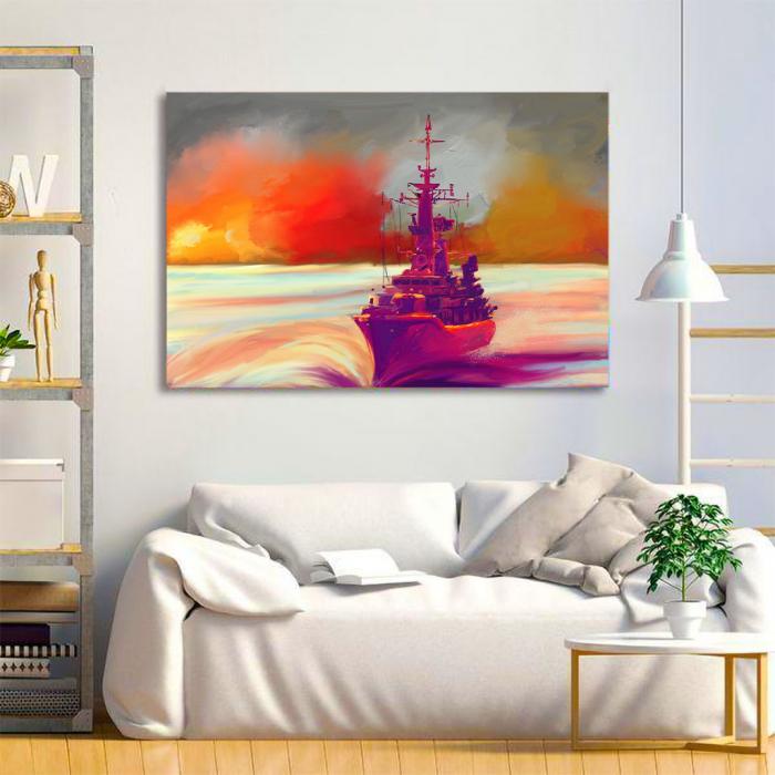 Tablou Canvas - Ilustratie vapor 1