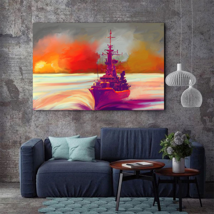 Tablou Canvas - Ilustratie vapor 2