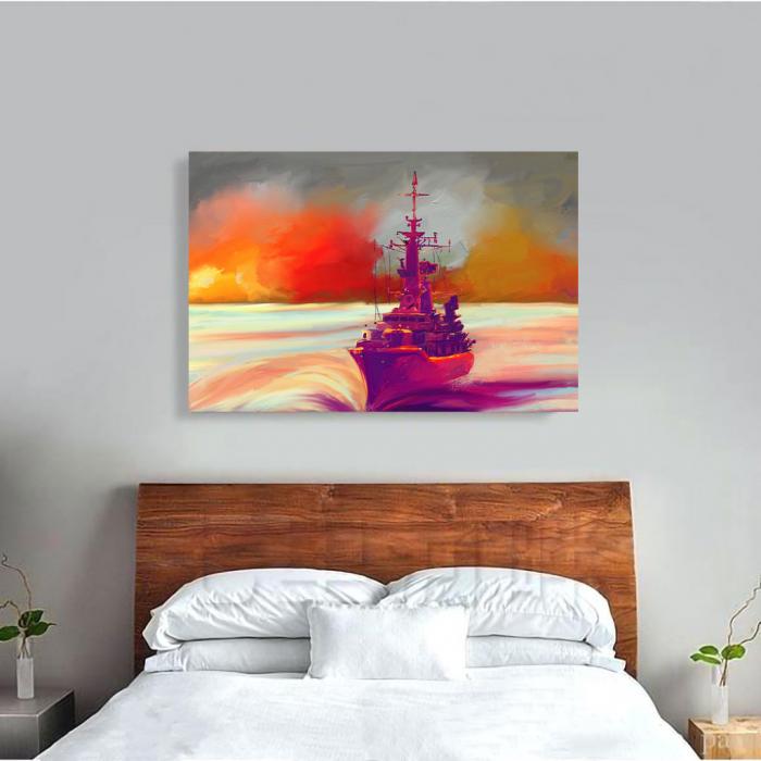 Tablou Canvas - Ilustratie vapor 3