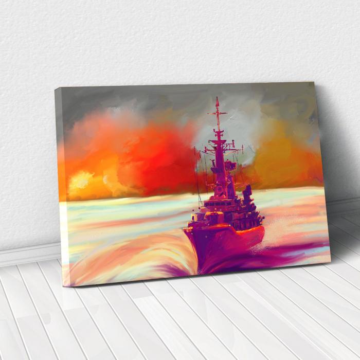 Tablou Canvas - Ilustratie vapor 0