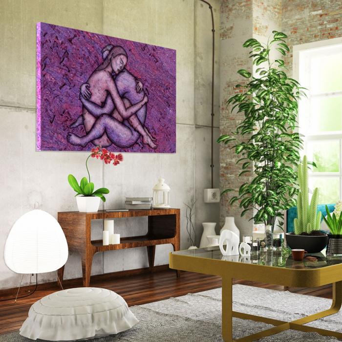 Tablou Canvas - Ilustratie artistica nud II [1]