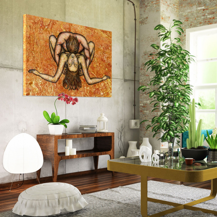 Tablou Canvas - Ilustratie artistica nud III 1