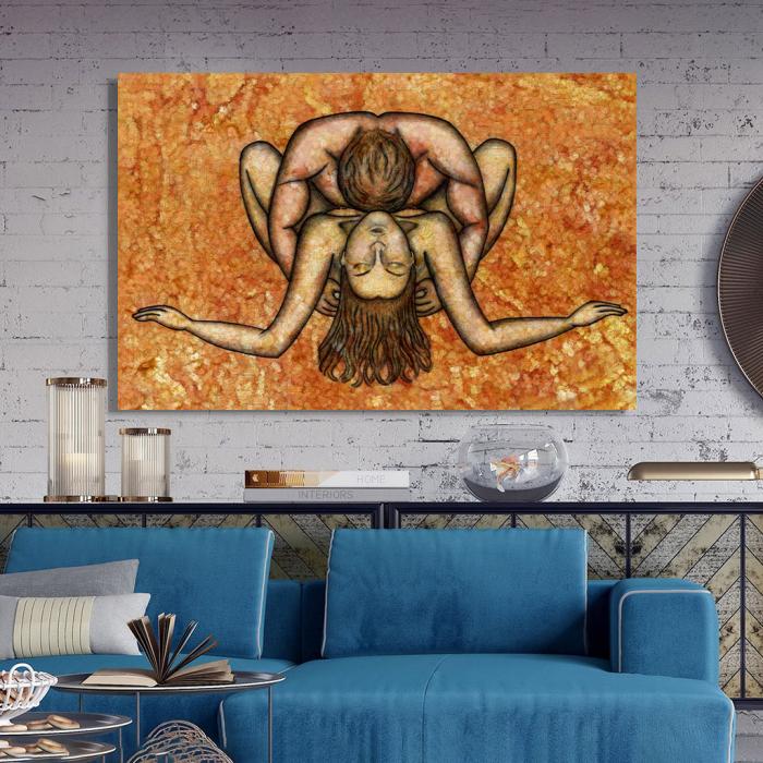 Tablou Canvas - Ilustratie artistica nud III 2