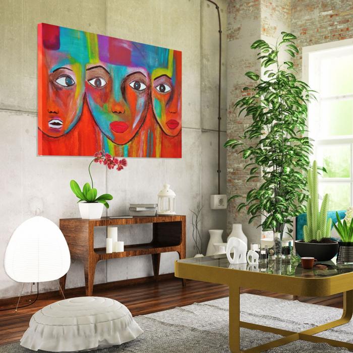 Tablou Canvas - Portrete artistice 1