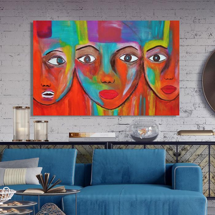 Tablou Canvas - Portrete artistice 2