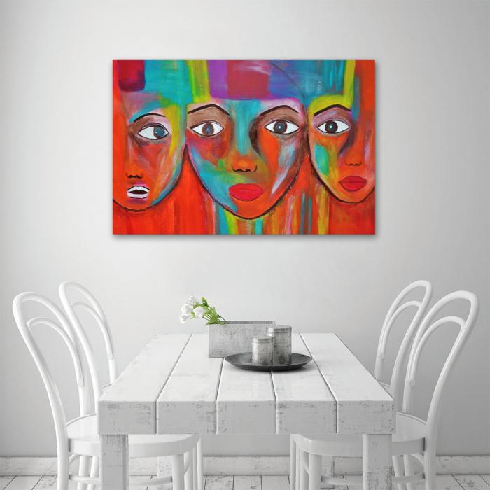 Tablou Canvas - Portrete artistice 3
