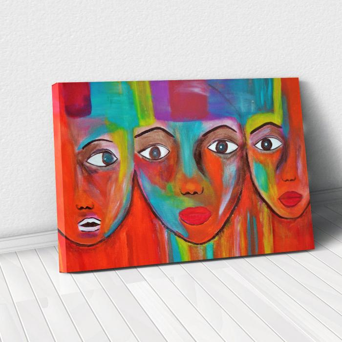 Tablou Canvas - Portrete artistice 0