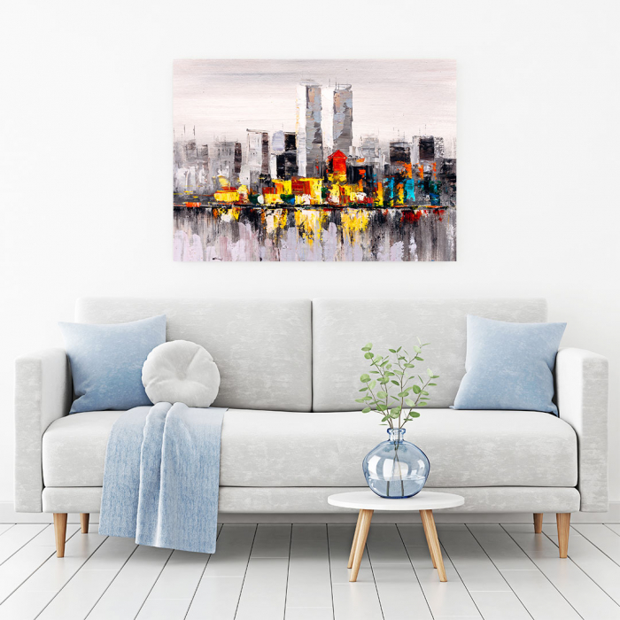 Tablou Canvas - City view of New York 1