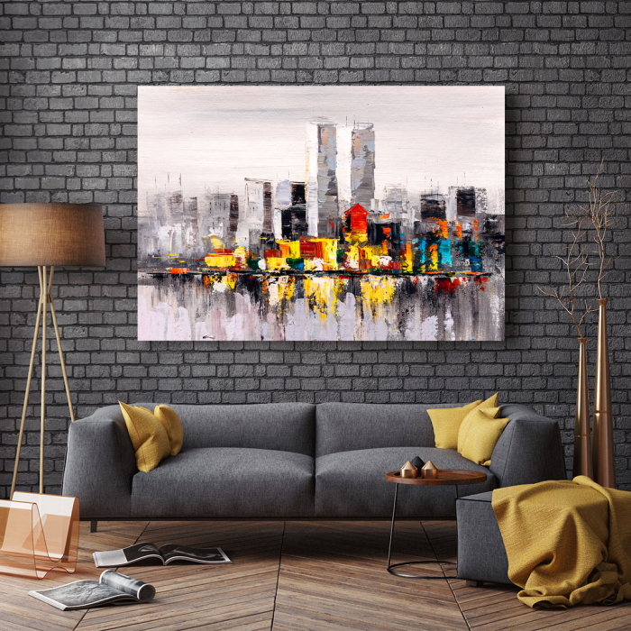 Tablou Canvas - City view of New York 2