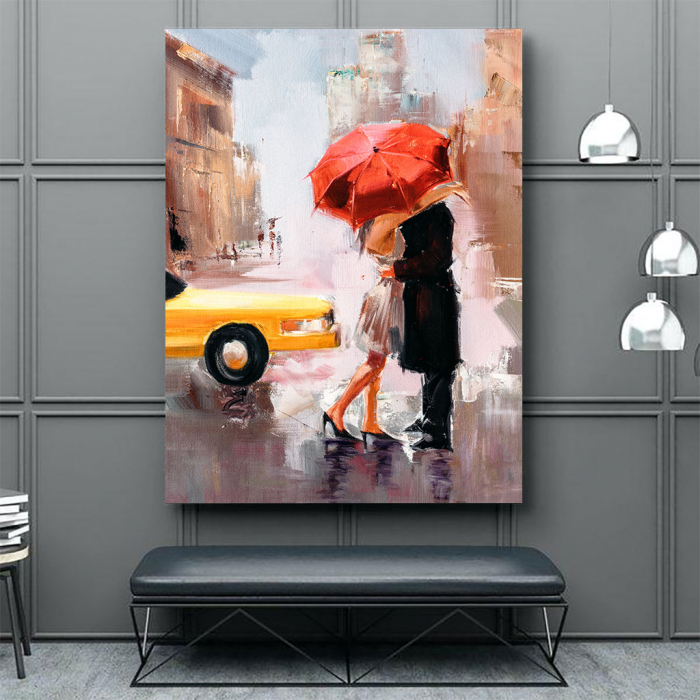 Tablou Canvas - Dating couple [3]