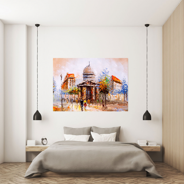 Tablou Canvas - Street view in France 3