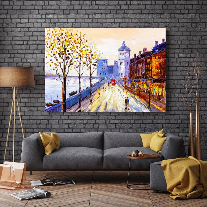 Tablou Canvas - Street view of London 2