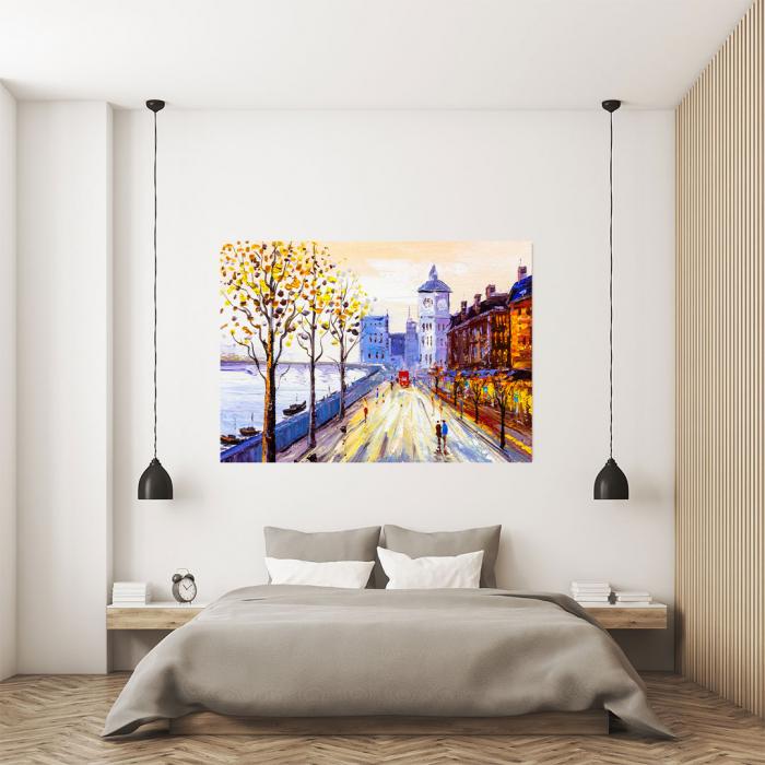 Tablou Canvas - Street view of London 3