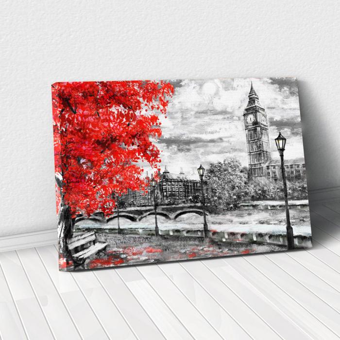 Tablou Canvas - Autumn in London 0