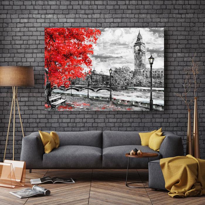 Tablou Canvas - Autumn in London 2